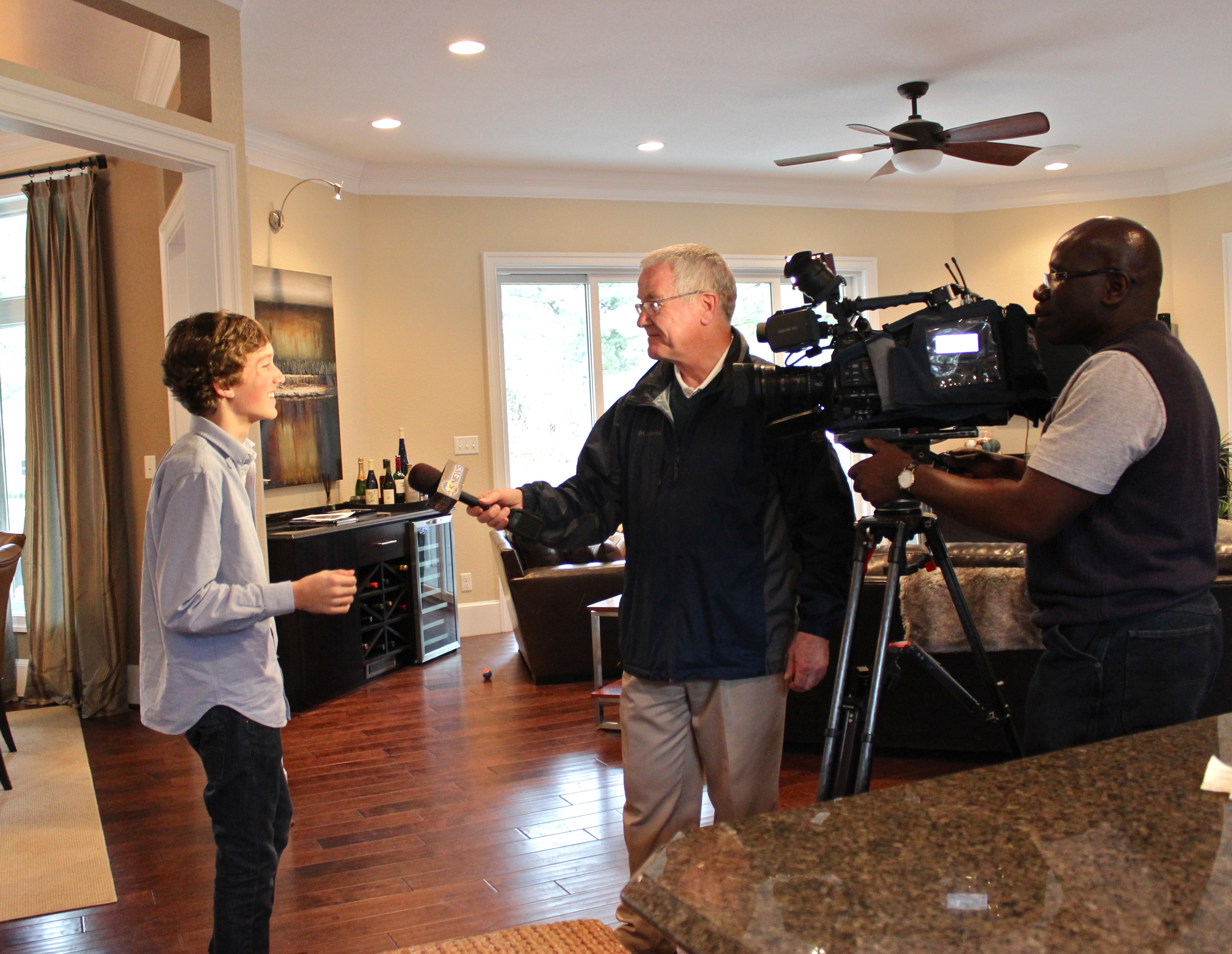 Thanks for the interview from Channel 13 news!